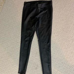 "Express ""Leather"" leggings, faux leather, S"